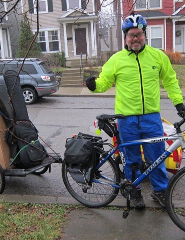 Part of Bicycling for Louisville's Move-By-Bike crew