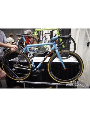 Baum Cycles built its Turanti 'cross bike using butted titanium tubing.
