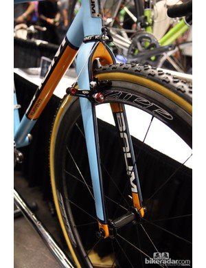 Baum Cycles' bikes at NAHBS weren't just carefully constructed - they were beautifully painted, too.