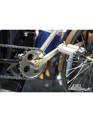 The University of the Fraser Valley's incredible 1888 Whippet reproduction crankset was completely fabricated from billet.