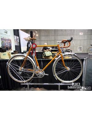 Bishop Bikes won 'Best Lugged Bike' at NAHBS with randonneur machine.