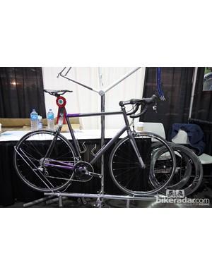Bishop Bikes won 'Best Fillet Brazed Frame' with this road bike.