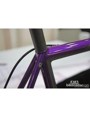 It's no wonder with craftsmanship like this that Bishop won 'Best Fillet Brazed Bike' at NAHBS.