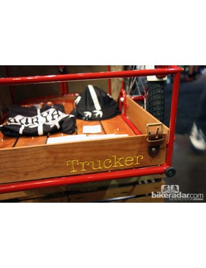 Trucker Bicycle Racks worked with Ira Ryan to build this amazing bike and trailer combo.
