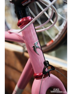Ira Ryan has one of the prettiest head tube badges in the business.