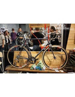 Ira Ryan showed off this lovely all-road bike at NAHBS.