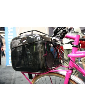 There's also a stereo built into the cargo box on Tony Pereira's townie.
