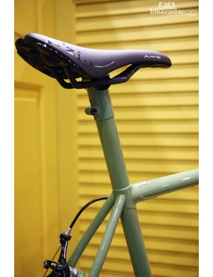 Even the seatmast head is painted to match on this Black Cat.