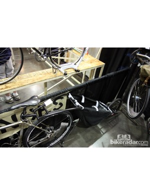 Frances offers this seatpost-mounted cargo trailer as well.