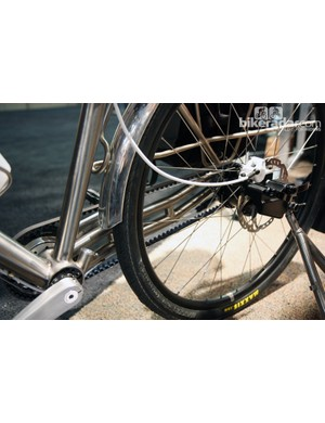 Ti Cycles built double chain stays into its 'experimental' bike.