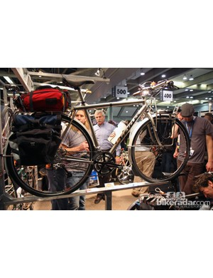 Ti Cycles brought this loaded tourer to display at NAHBS.