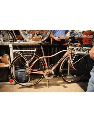 Ti Cycles also brought along this curvy townie.