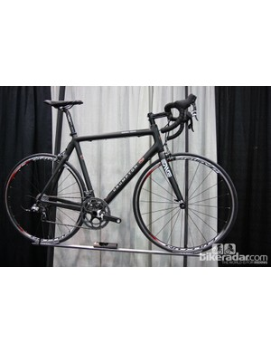 Crumpton's production Corsa Team model is built for him in Italy by Sarto