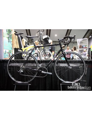 Alliance Bicycles built this bike for a customer who wanted a steel stage race bike