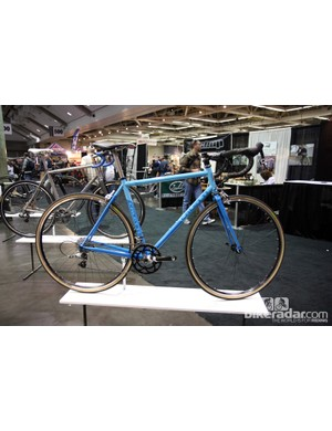 Caletti Cycles were among many builders at NAHBS to display an all-road bike - similar to a racing bike but with more tire clearance for bigger and more versatile rubber