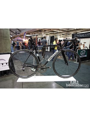 Caletti Cycles built this steel road racer for the captain of the Santa Cruz, California based Steel Wul Cycle Club