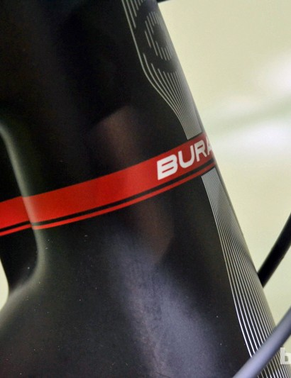 NeilPryde BuraSL braced head tube
