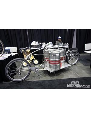 My Dutch Bicycle brought this crowd-pleasing beer keg hauler to NAHBS