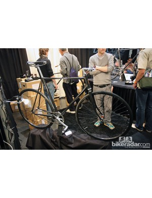 Cykelmageren brought this intriguing fixie to NAHBS