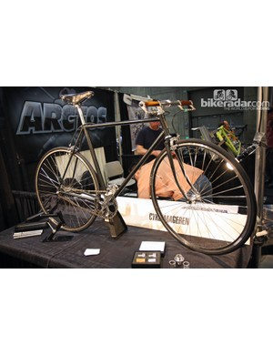 Cykelmageren also brought along this fetching singlespeed to NAHBS