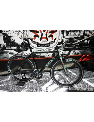 Festka Bicycles hail from the Czech Republic and conjure up images of Bianchi with this paint job