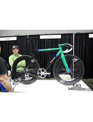 Los Angeles, California based outfit Moth Attack showed off this striking track bike at NAHBS