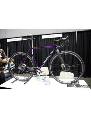 Raphael Cycles build custom steel frames in San Francisco, California