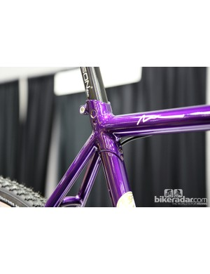 Nice fillet brazing and lug work from Raphael Cycles