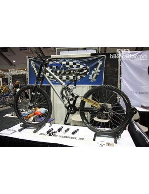 Risse Racing's Lassen downhill bike design actually dates back to 1995