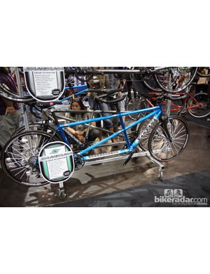 Santana also offer tandems built with double butted Easton scandium tubesets both with and without the Exogrid treatment