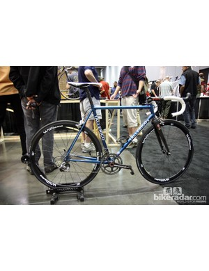 Tallerico Handmade Bicycles showed off this gorgeous road bike at NAHBS