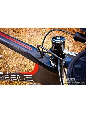 The Deda bars are lightweight but lack adjustment. You can choose whatever you want from the build-up menu though