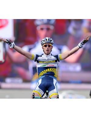 Lieuwe Westra (Vacansoleil-DCM) wins the queen stage of Paris-Nice