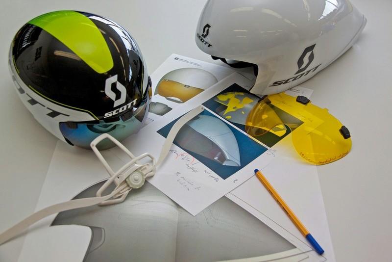 Scott's new Split helmet has been in development for 2 years