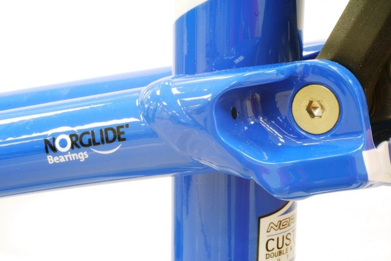 Norco uses NorGlide bearings for the pivots in some of their full suspension bikes
