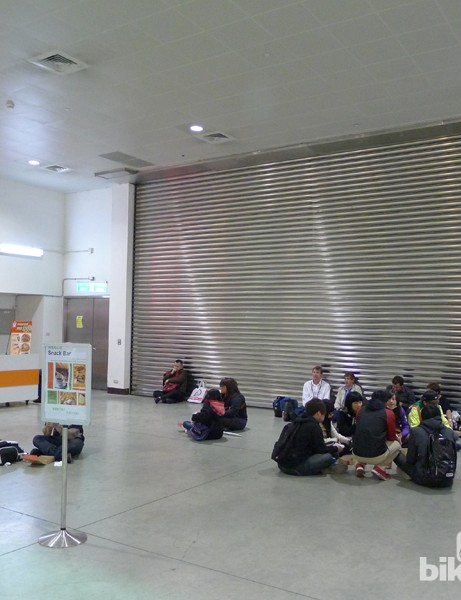 When Taipei Cycle first opened this building we remember thinking 'it'll be nice when they get some seating installed'. Four years on and we're still waiting