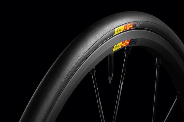 Mavic's wheel systems include tires