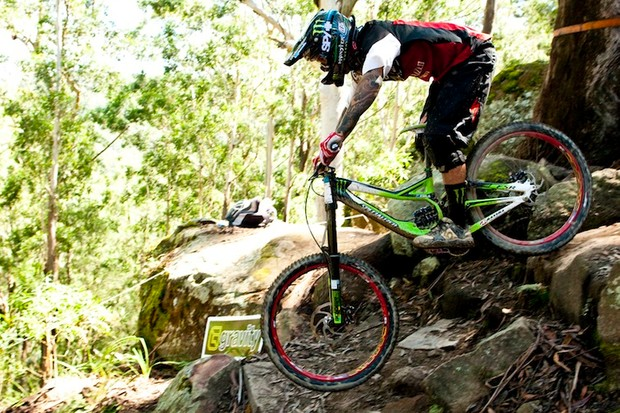 Hill took the win at the final round of the Australian National Series, ahead of Brosnan