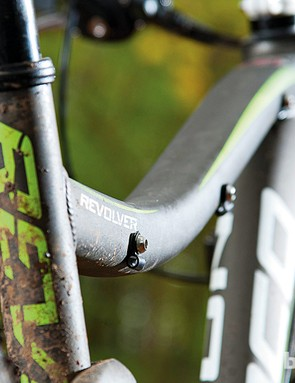 Routing for a dropper seat post is just one of the Revolver's future-proofing features