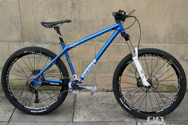 The Slackline 853 is the first model from new UK company Stanton Bikes