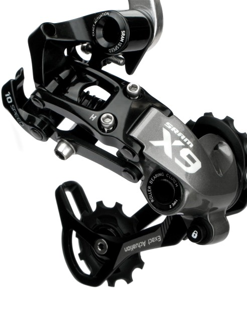The X9 Type 2 rear derailleur will offer the same options as the X0 model