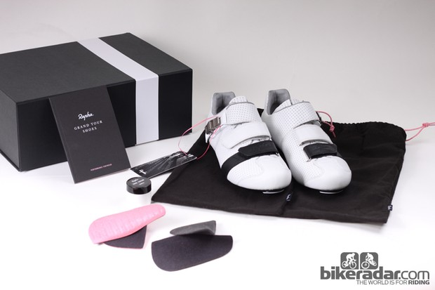 Rapha's Grand Tour Shoe kit
