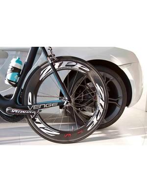 Boonen will run Zipp wheels