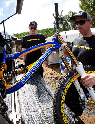 Unpacking the Nukeproof DH rigs