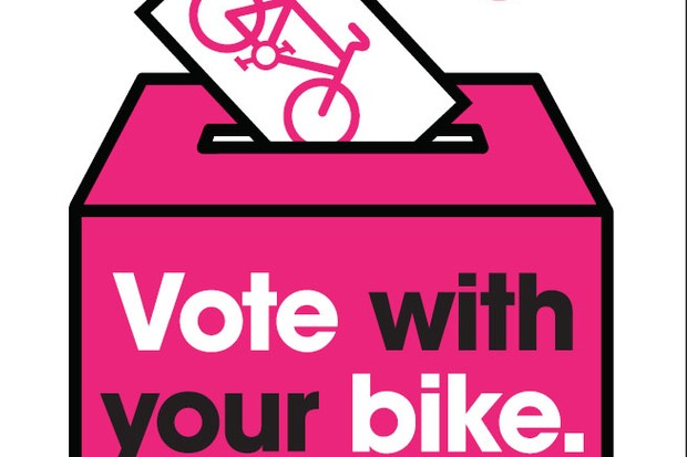 Vote with your bike on May 3