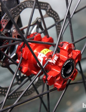Mavic's new Crossmax SLR 29er wheels look to use the same hubs as the currently available 26