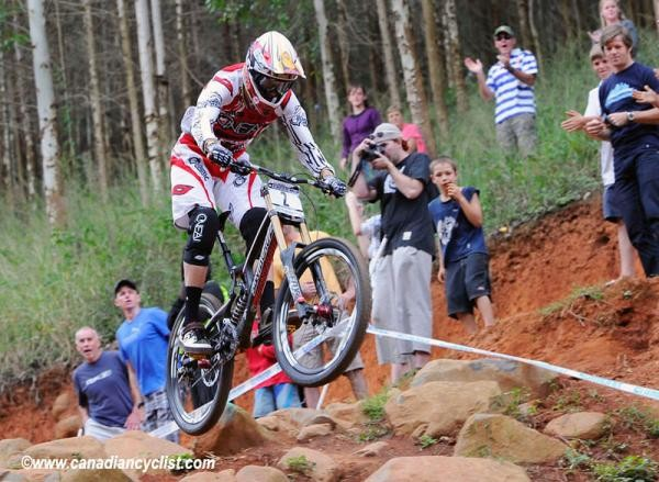 Greg Minnaar (Santa Cruz Syndicate) on his way to winning