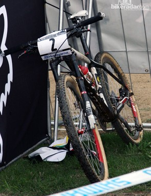 Nino Schurter (Scott-Swisspower) made history in Pietermaritzburg, South Africa with the first UCI World Cup victory on 650b wheels.