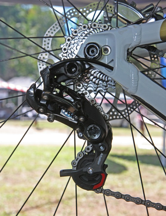 Andrew Neethling (Giant Factory Team) used SRAM's new Type 2 rear derailleur in Pietermaritzburg