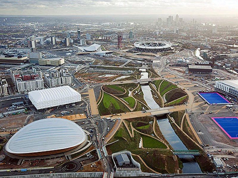 The Olympic Park will host the start of each day's action